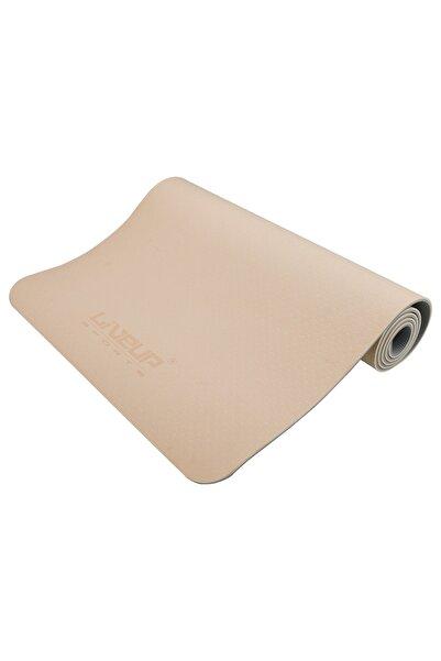 Liveup Ls3237 6mm Tpe Yoga Mat Pembe