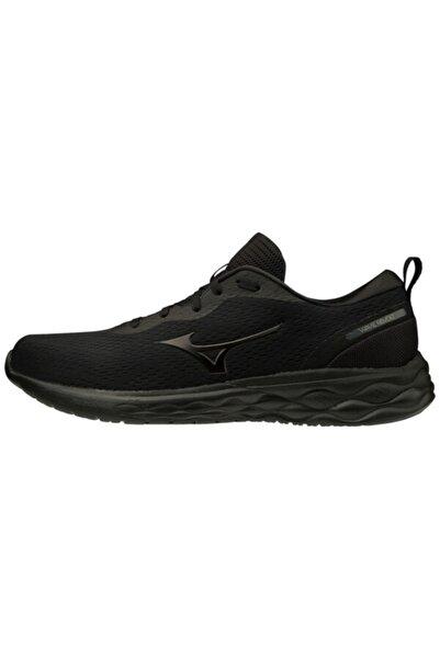 MIZUNO Wave Revolt Unisex Koşu Ayakkabısı Siyah