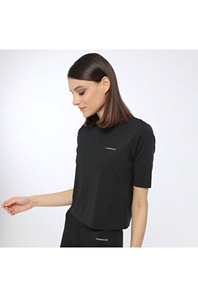 lumberjack Marta Lasercut T-shırt Siyah Kadın T-shirt