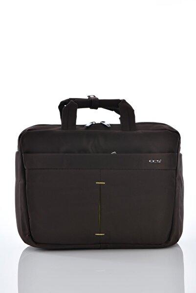 ÇÇS 71340 Laptop Bölmeli Evrak Çantası Kahverengi