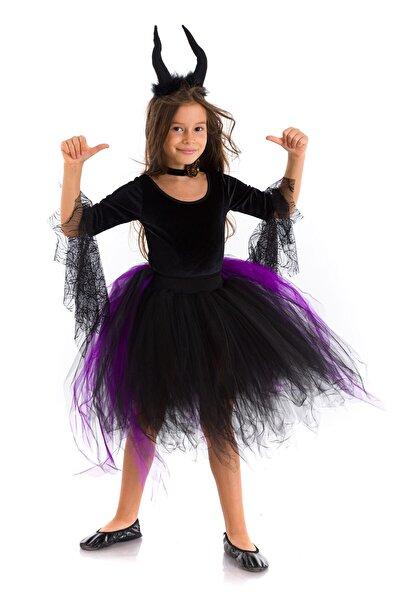Tameris Kostüm Cadı Catherina Kostümü Mor