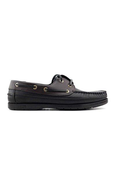 Kayra 301 Hakiki Deri Erkek Ayakkabı-siyah Kahve