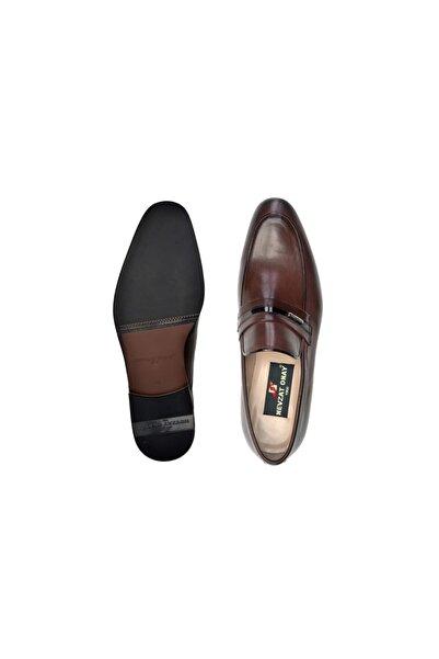Nevzat Onay Hakiki Deri Kahverengi Günlük Loafer Neolit Erkek Ayakkabı -11442-