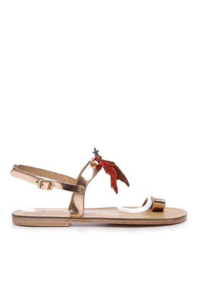 KEMAL TANCA Kadın Deri Sandalet Sandalet 607 Kb35 Bn Sndlt