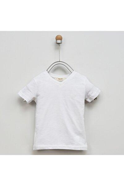 Panço Erkek Çocuk Basic V Yaka T-shirt 9941bk05002