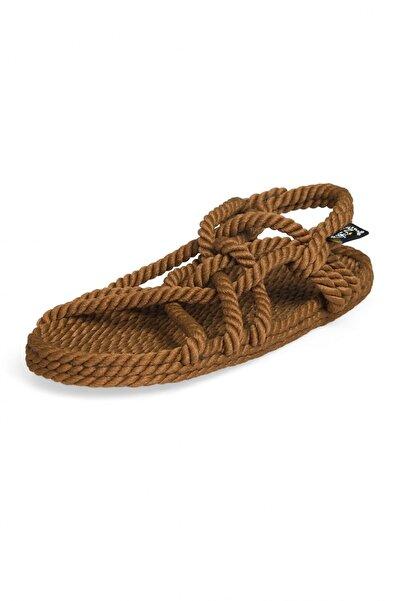 Nomadic State Of Mind - Jc Kahverengi Hasır Ip Sandalet