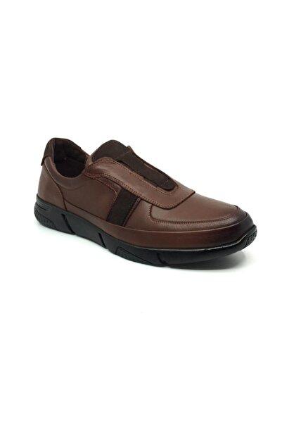 Taşpınar Salih %100 Deri Erkek Rahat Günlük Bağsız Mevsimlik Ayakkabı