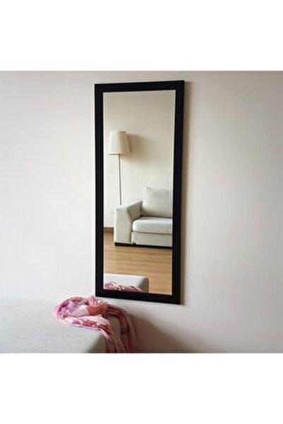 - Siyah Dekoratif Ayna 45x110 Cm A205