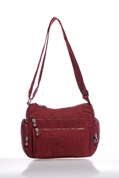 SMART BAGS Smbky1115-0021 Bordo Kadın Çapraz Çanta