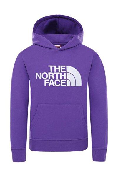 THE NORTH FACE Drew Peak Pullover Hoodie Çocuk Sweatshirt Mor