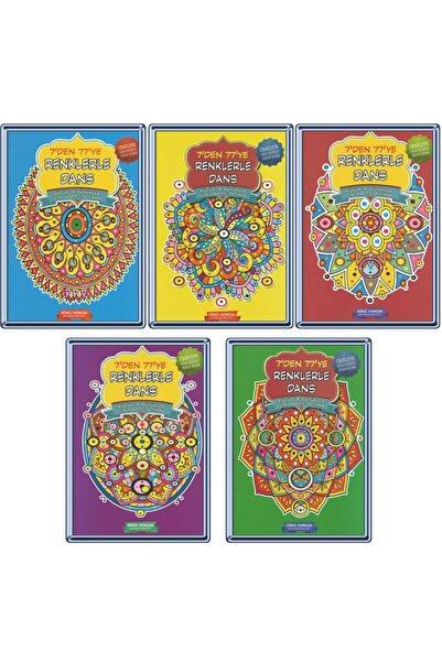 Gönül Yayıncılık Mandala 7den 77 Ye 5 Li Boyama Seti