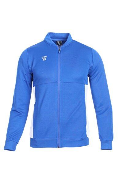 Sportive Warm-up Kadın Mavi Günlük Stil Eşofman Üstü Tke3001-00m