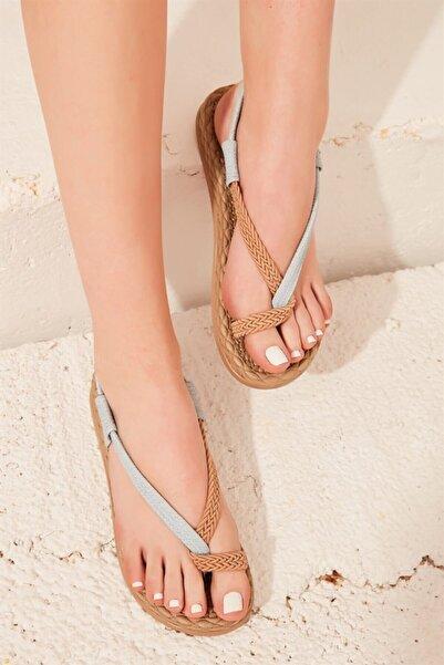 Bambi Mavi Kadın Sandalet L0823130016