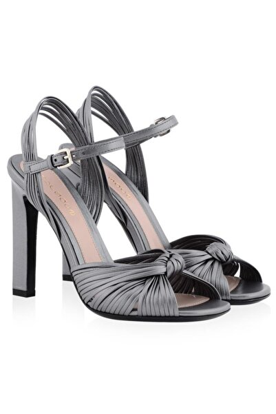 Nursace Hakiki Deri Klasik Topuklu Ayakkabı Nsc17y-a56308