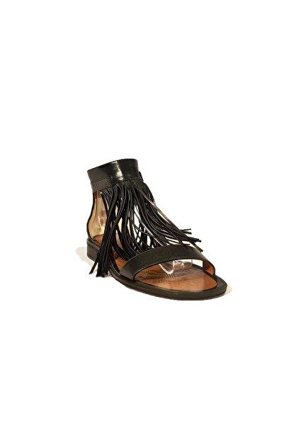 Nursace Hakiki Deri Sandalet Nsc19y-a08284 Buffalo
