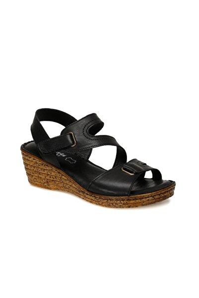 Polaris 91.100792.Z Siyah Kadın Sandalet 100375115