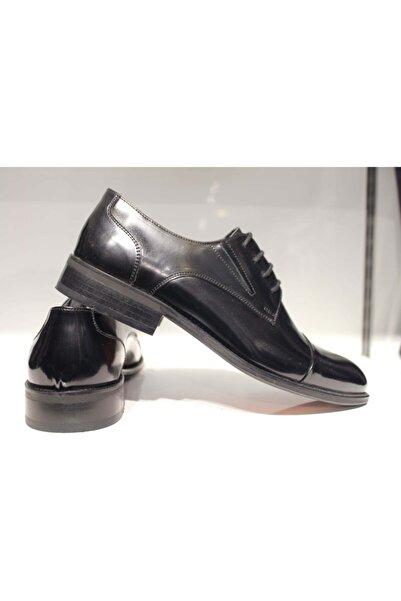 CHERCHİ Erkek Siyah Hakiki Ayakkabı
