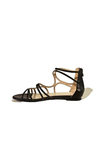 Nursace Hakiki Deri Sandalet Nsc14y-20657