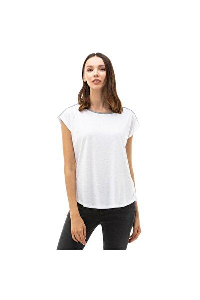 Nautica Nautıca Kadın Beyaz T-shirt