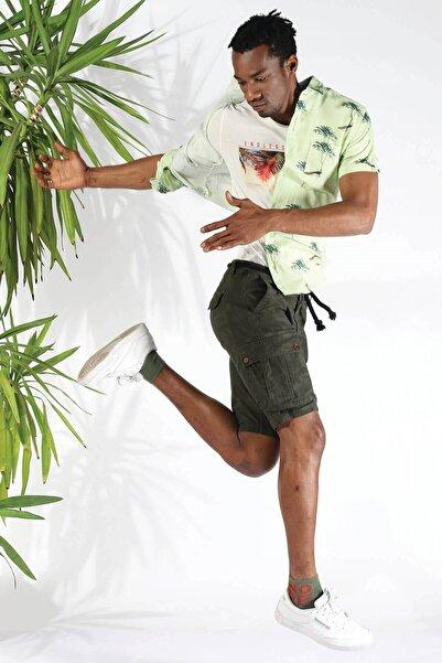 Twister Jeans Erkek Gömlek Eg 1673 (T) Fıstık Yesılı