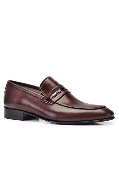 Nevzat Onay Erkek Kahverengi Kahve Kösele Ayakkabı