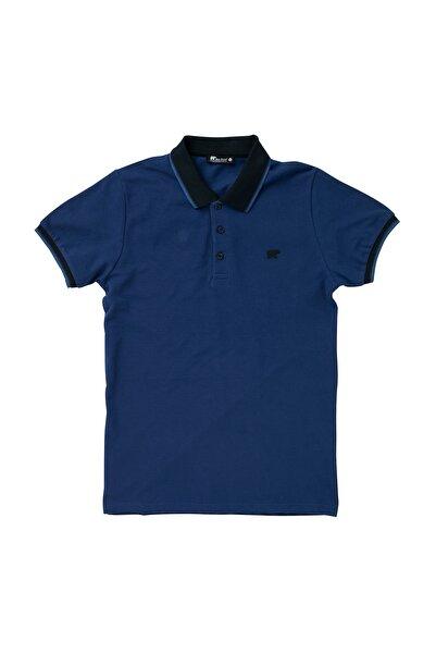Bad Bear Pınstrıpe Pıque Polo Mavi Polo Tişört