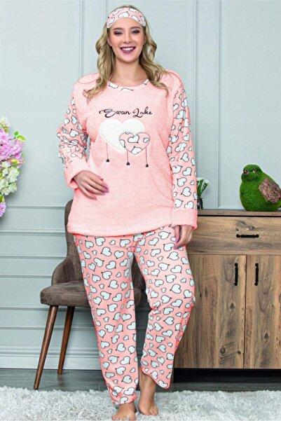Moday Büyük Beden Kışlık Pijama Takımı 32c-1467
