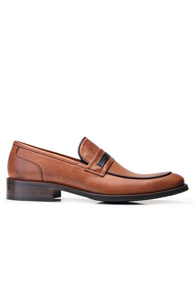 Nevzat Onay Hakiki Deri Taba Klasik Loafer Erkek Ayakkabı -11902-