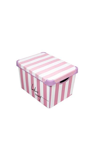 QUTU Style Box Lady's Secret - 20 Litre Dekoratif Saklama Kutusu