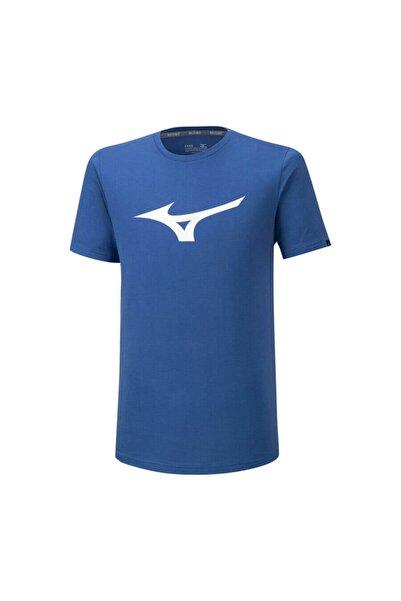MIZUNO Rb Logo Tee Erkek T-shirt Mavi