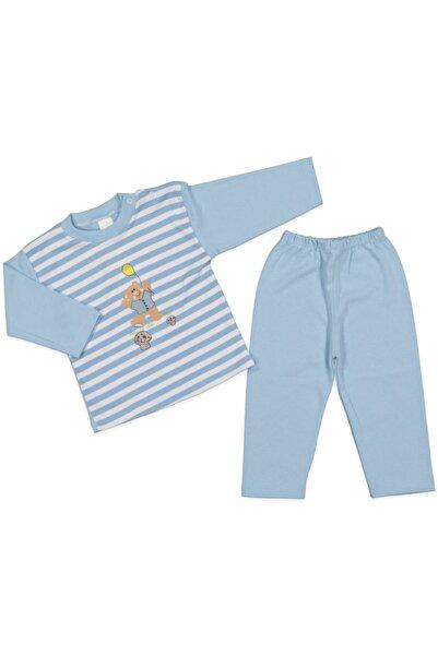 AYYILDIZ Pijama Takımı Mantarlı Ayıcıklı