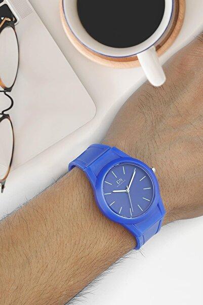 Duke Nickle Due1016 Unisex Kol Saati Silikon Mavi