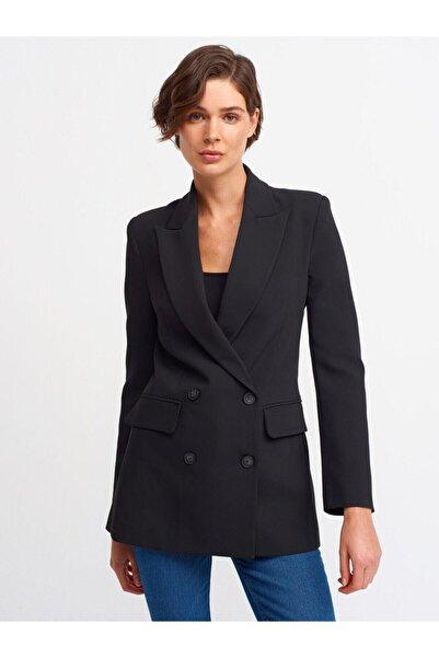 Dilvin Kadın Siyah Blazer Ceket-6880