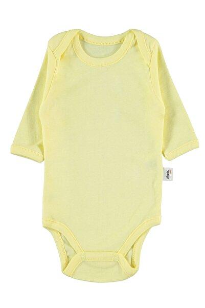 Civil Baby Bebek Çıtçıtlı Badi 0-24 Ay Sarı