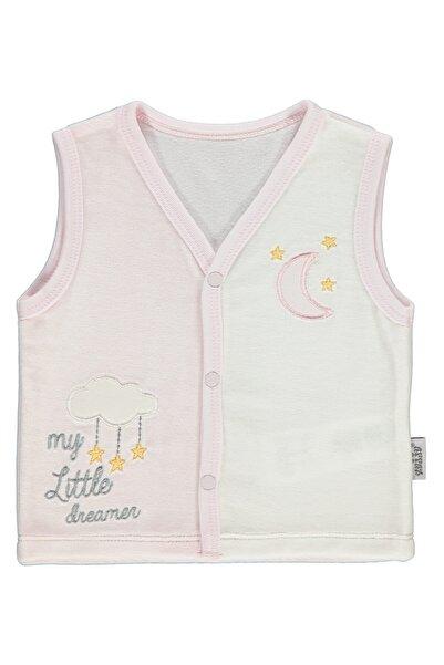 Kujju Civil Baby Kız Bebek Yelek 6-18 Ay Pembe