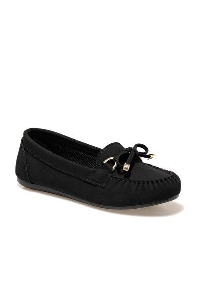 Miss F Dw19007-20k Siyah Kadın Loafer Ayakkabı