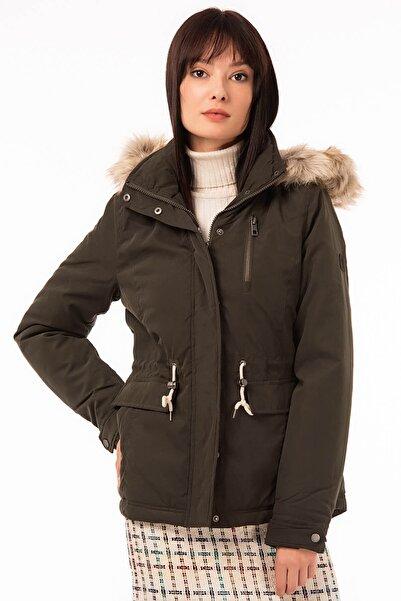 Vero Moda Kadın Haki Mont 10199206