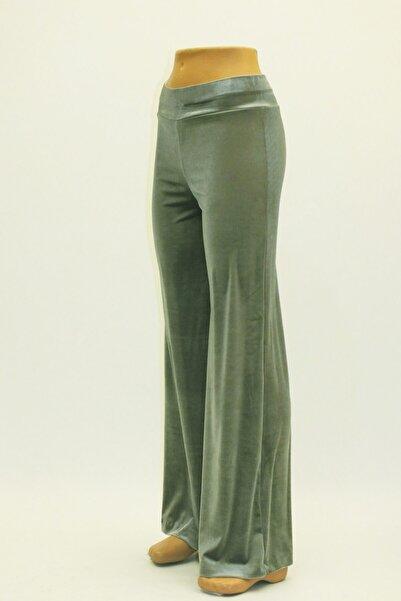 Otto Kadın Genişpaca Kadife Pantolon Şık Ve Rahat Giyim