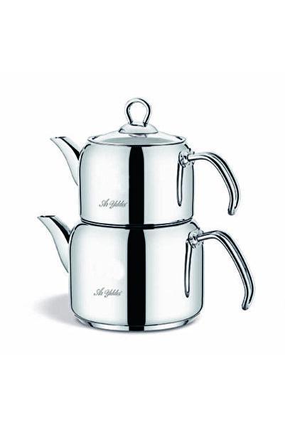Aryıldız Store By Trend Çelik Sap Çaydanlık Takım