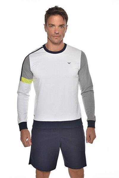 bilcee Beyaz Erkek Sweatshirt Gw-9388