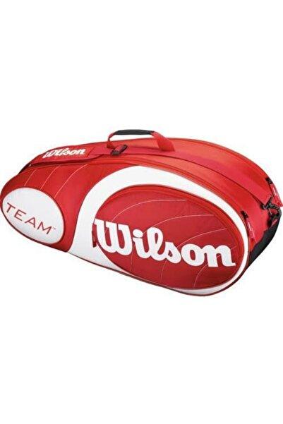 Wilson Team Kırmızı Raket Çantası