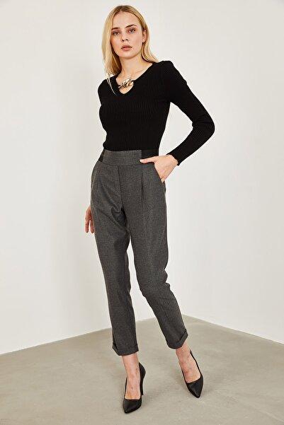 Lafaba Kadın Antrasit Pantolon