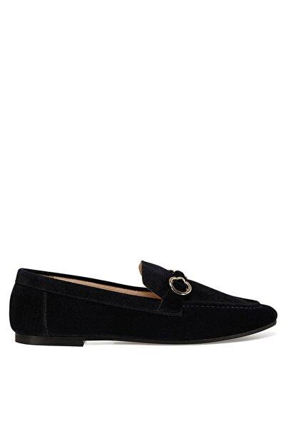 Nine West Mella Lacivert Kadın Loafer Ayakkabı