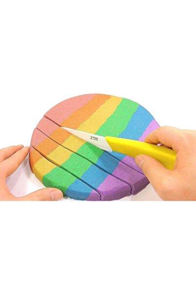 webcenter Dağılmayan Kum Kinetik Kum - 4 Renk 1 Kg Oyun Kumu