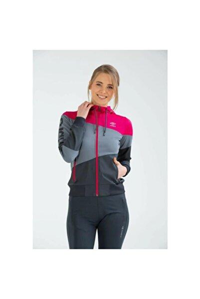UMBRO Tift Sportswear Vc-0006 Fuşya-gri Kadın Sweat