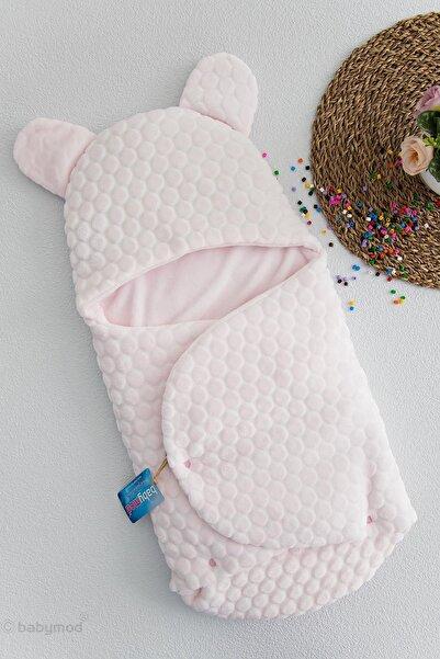 Babymod Unisex Bebek Pembe Kabartmalı Kundak