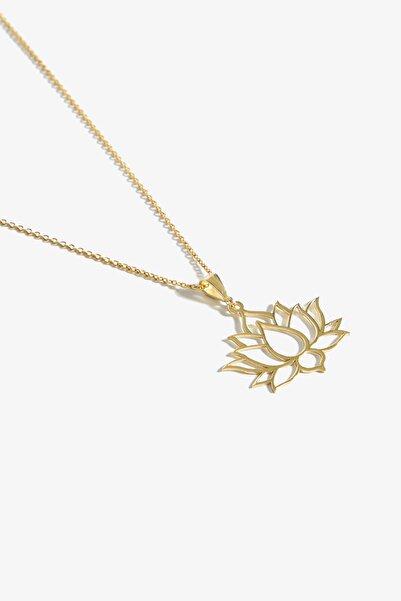 Lapidore Lotus Gold Kolye
