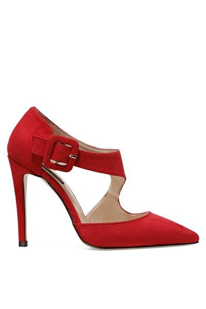 Nine West Estela Kırmızı Kadın Topuklu Sandalet