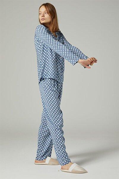 Ribanas Pijama Takım-bebek Mavisi 1037-118