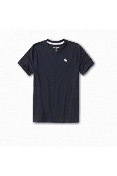 Abercrombie Erkek Çocuk Lacivert Icon T-shirt